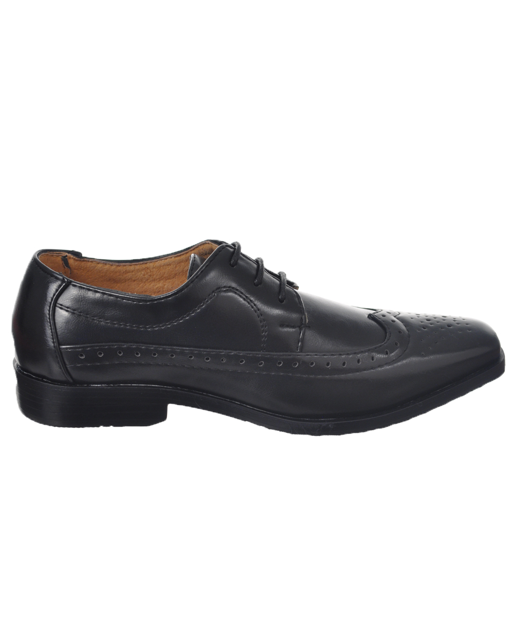 easy strider boys quot worsted wingtip quot dress shoes youth