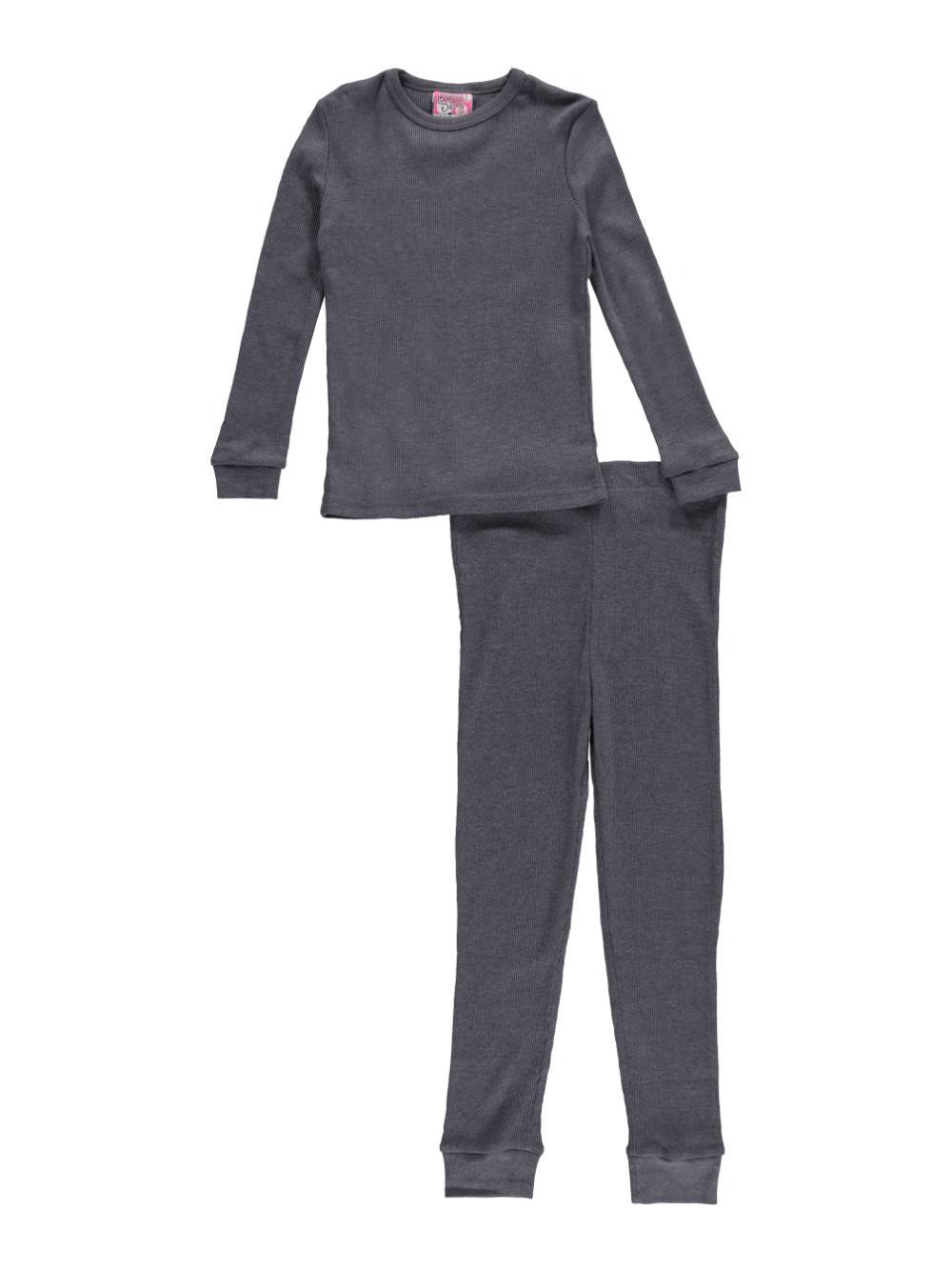 Ice2O Little Girls' Toddler 2-Piece Thermal Long Underwear ...