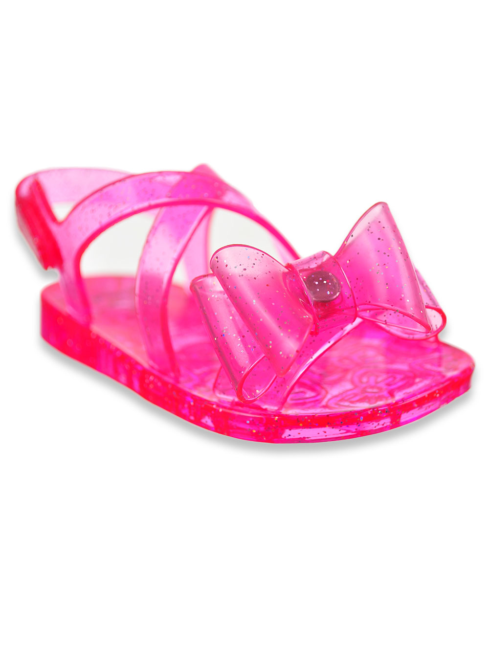 Stepping Stones Baby Girls/' Glitter Jelly Sandals