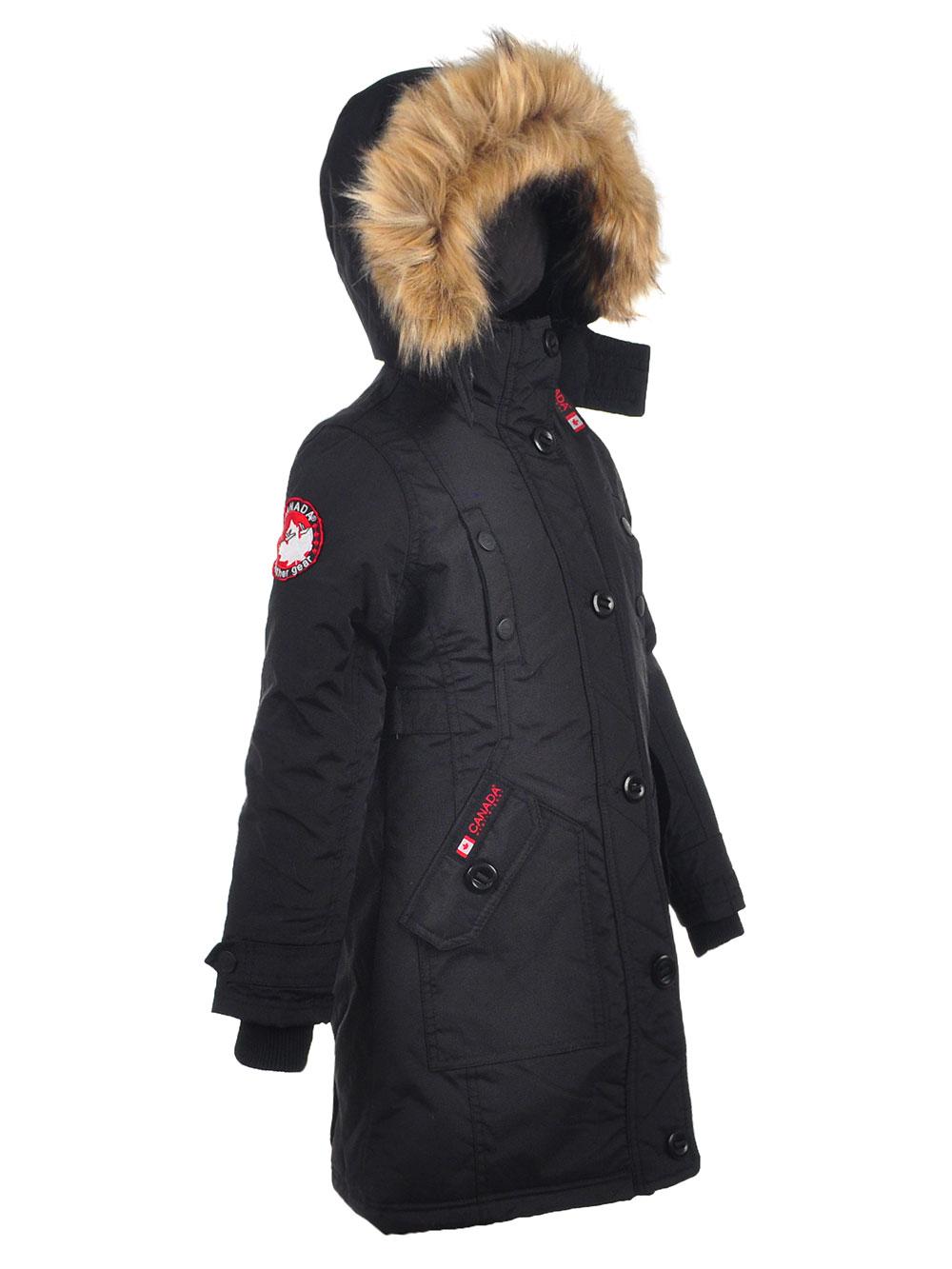 Canada Weather Gear Girls/' Insulated Parka