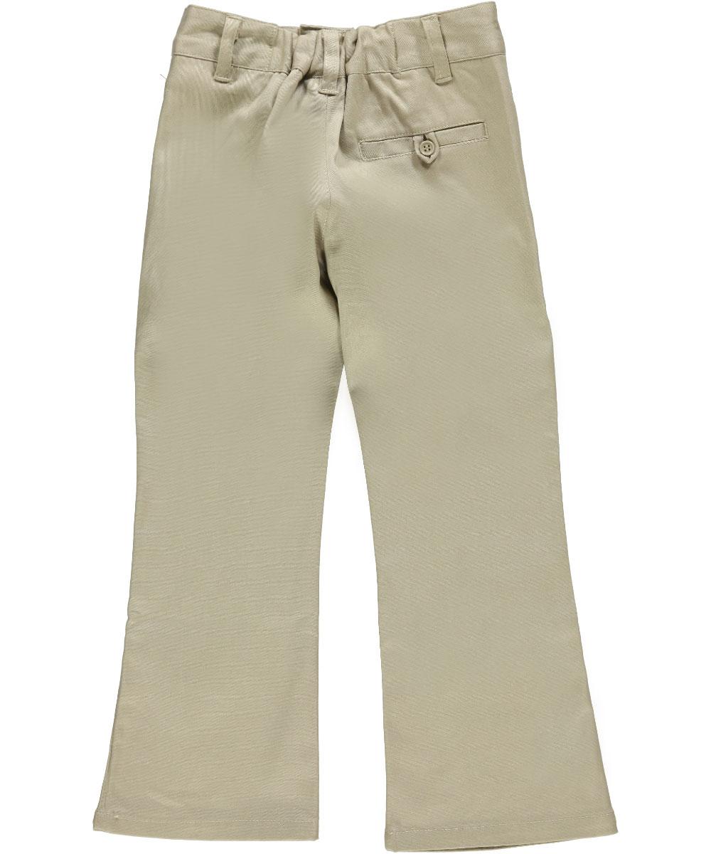 Sizes 4-6X Denice Little Girls/' Stretch Uniform Pants