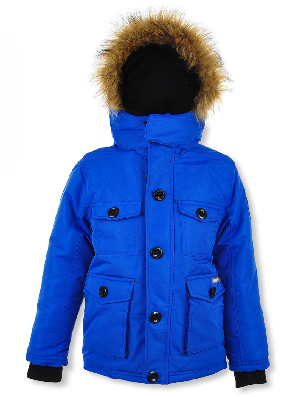 Avalanche Boys/' Button Flap Insulated Parka