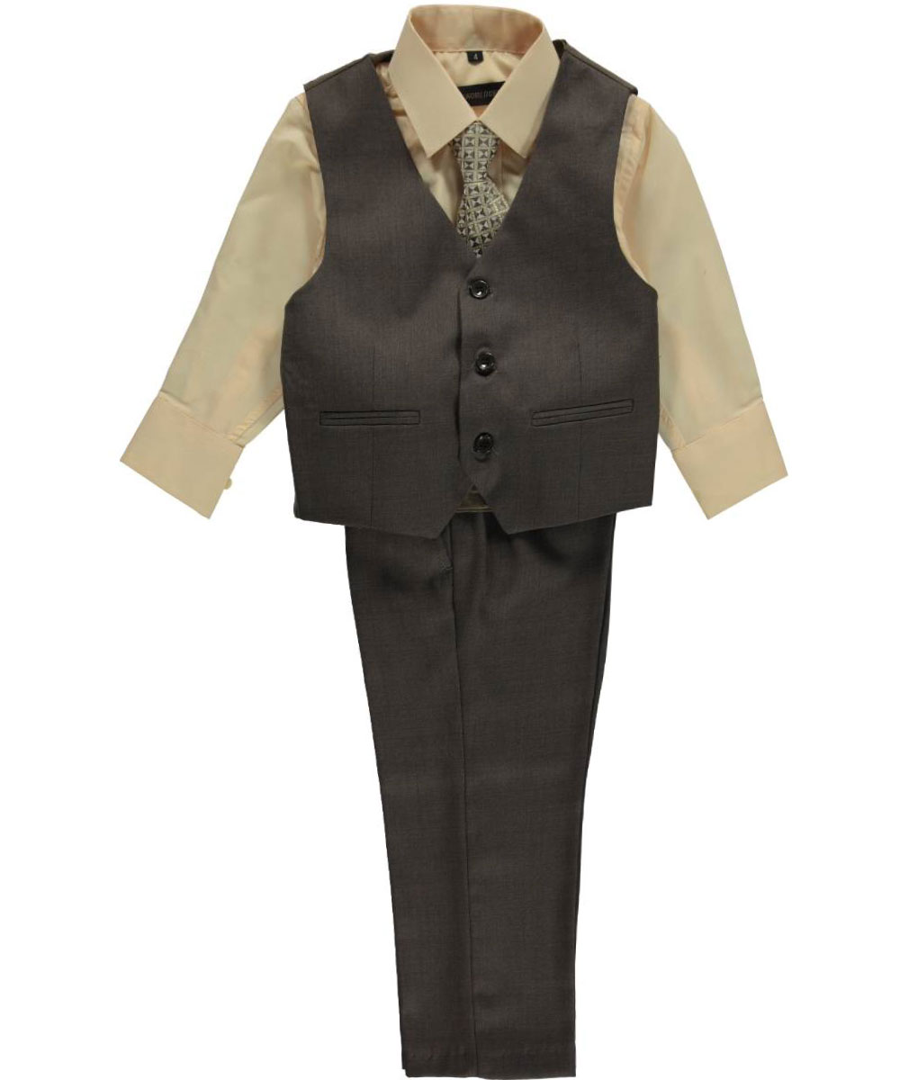 These suits are very well made, and include a traditional double pleated dress pant with real pockets and a real waistband. Available in sizes 8 to 20 Regular, beginning at $ For a Boy's Regular Sizing Chart please click here.