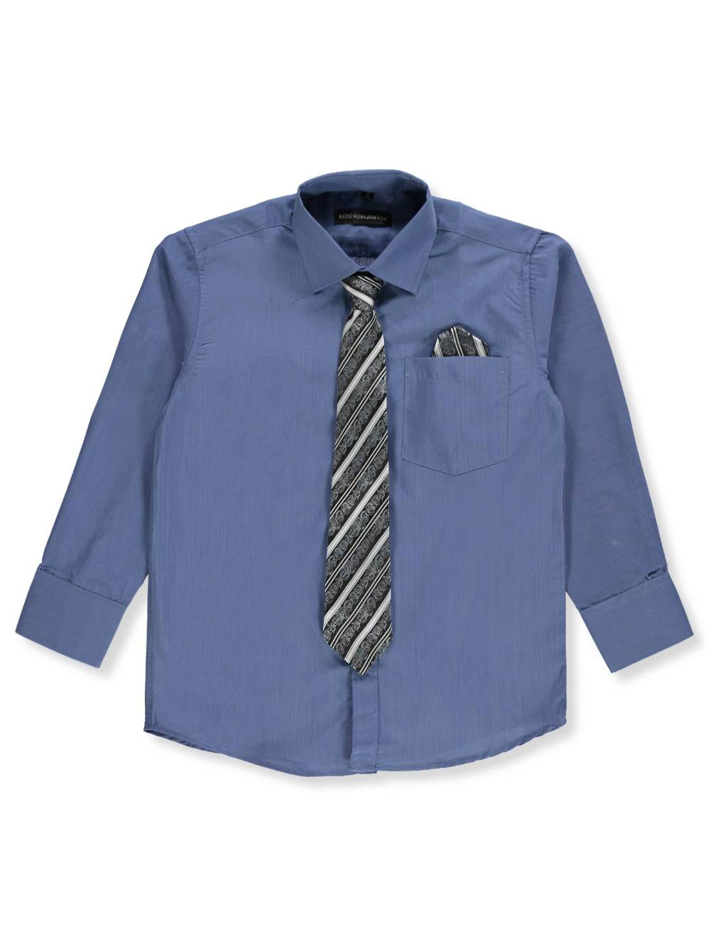 Kids World Boys/' Dress Shirt with Accessories