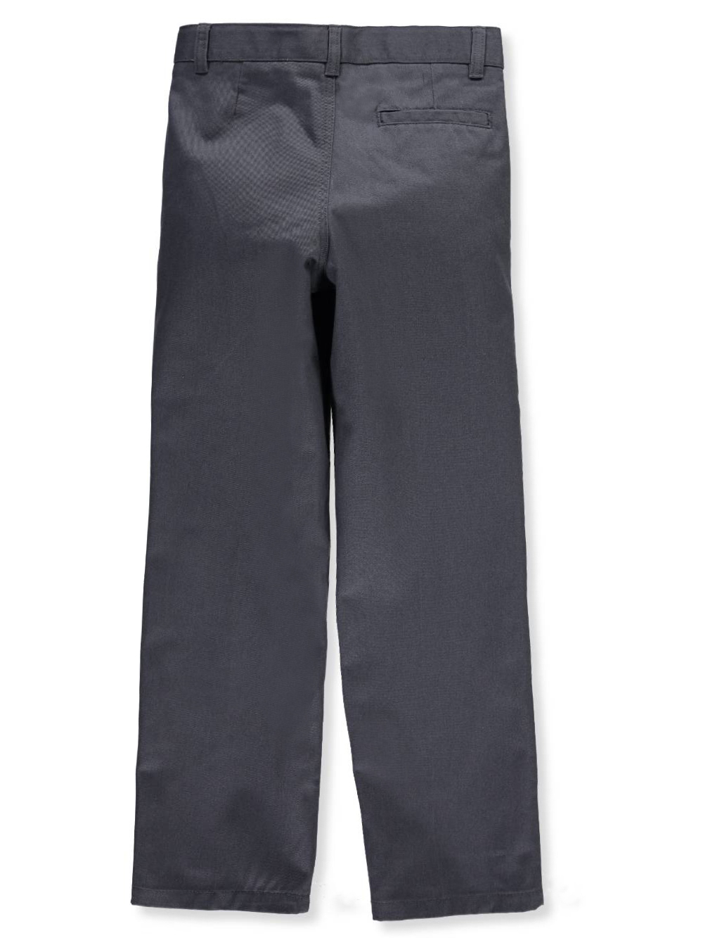 Sizes 8-20 French Toast Big Boys/' Pleated Wrinkle No More Double Knee Pants