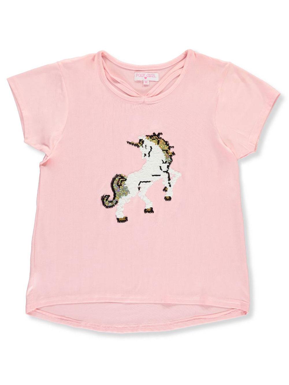 Poof Girl Girls/' Flip Sequin T-Shirt