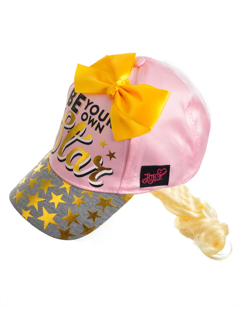 Jojo Siwa Girls  Baseball Cap with Ponytail  94b7e3f93aa