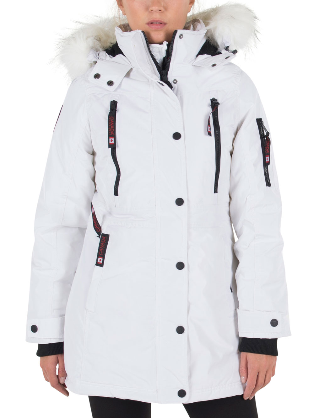 Insulated About Canada Plus Details Gear Parka Womens' Weather htQCsrd
