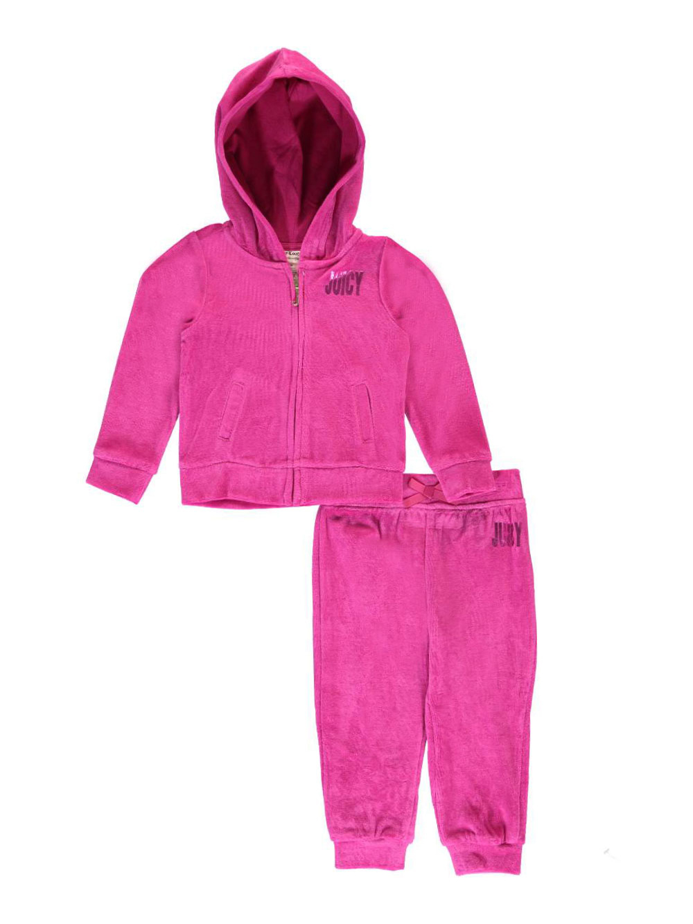 Juicy Couture Baby Girls Spot The Couture 2 Piece Velour