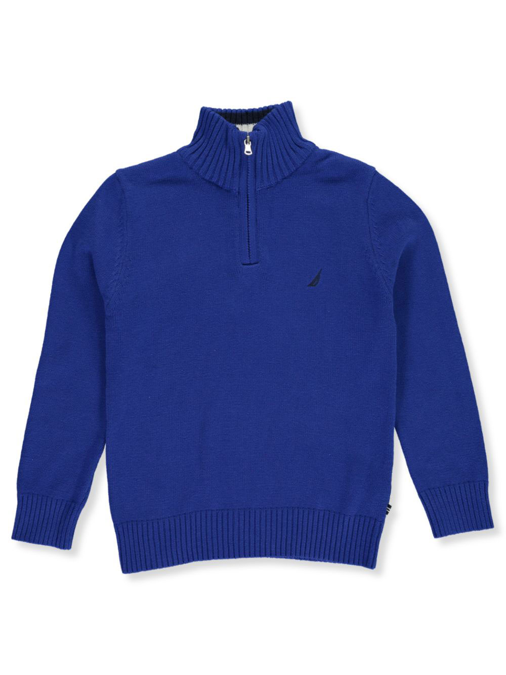 Nautica-Boys-039-Collar-Stripe-Sweater thumbnail 5