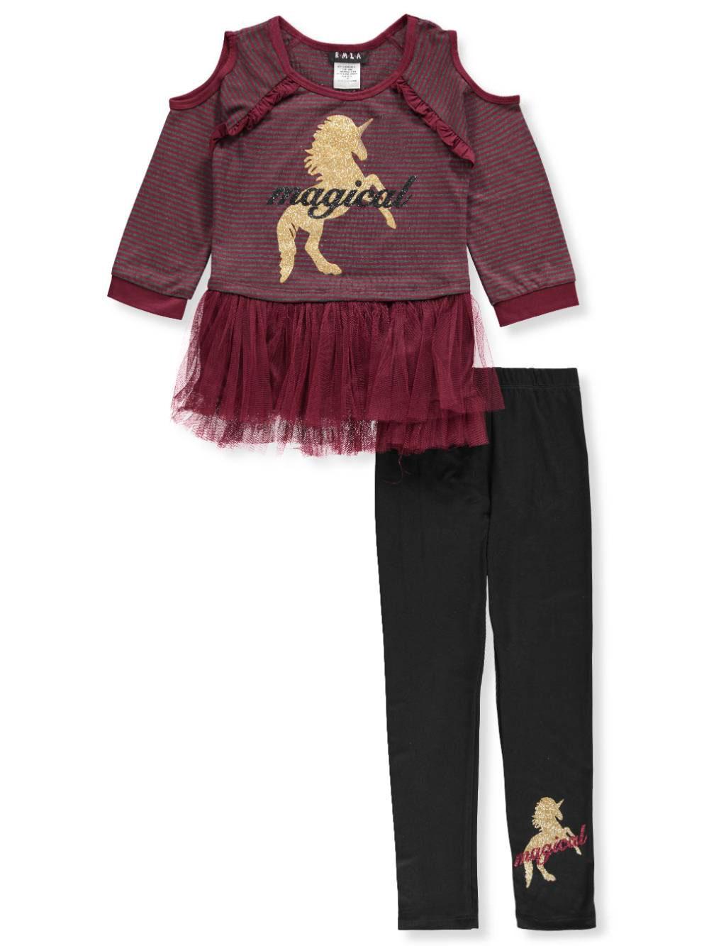 RMLA Girls Size 6 2-piece Legging Set