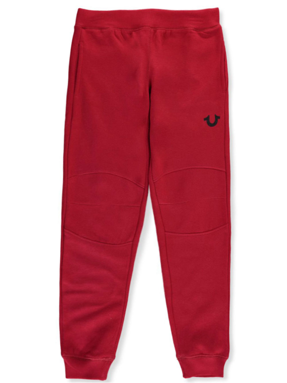Details zu True Religion Boys' Seamed Knees Fleece Joggers