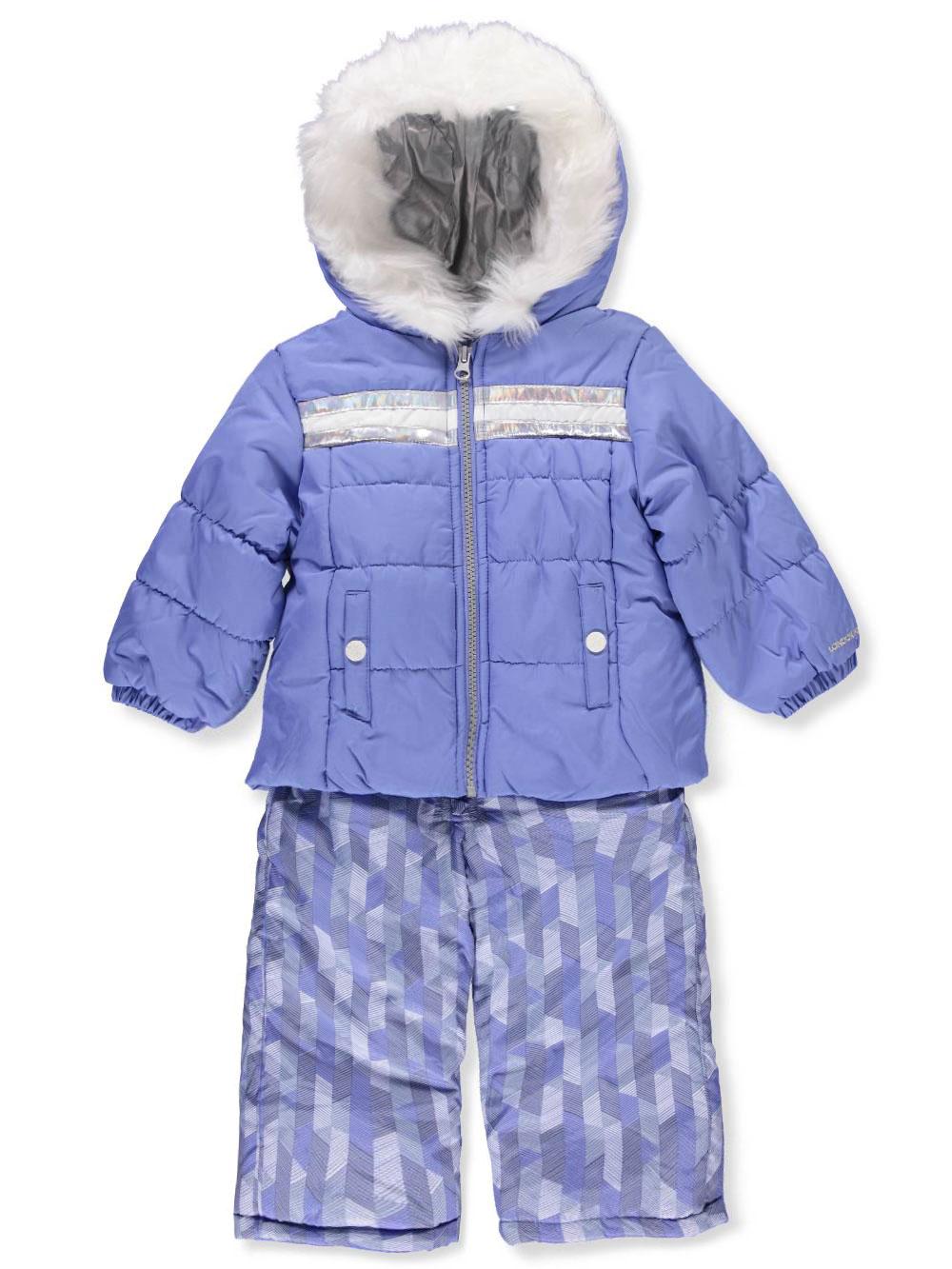 London-Fog-Baby-Girls-039-2-Piece-Snowsuit thumbnail 3