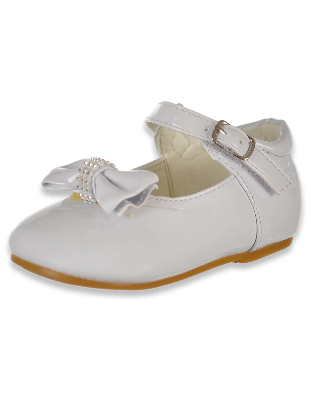 Sizes 6-12 Angels Girls/' Floating Petal Mary Jane School Shoes