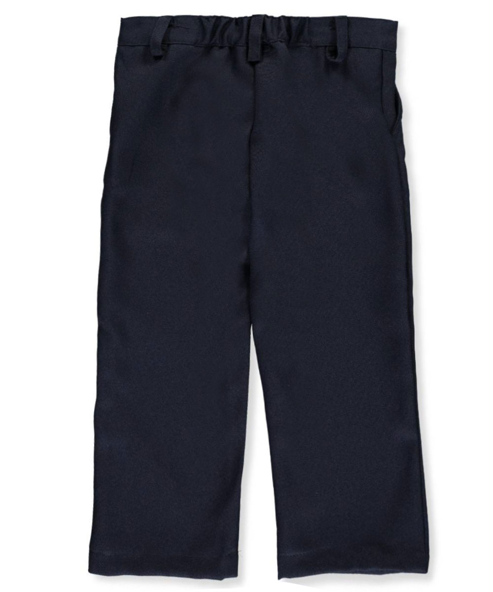 Toddler Black Pull On Pant Flat Front Genuine School Uniforms Sizes 3T
