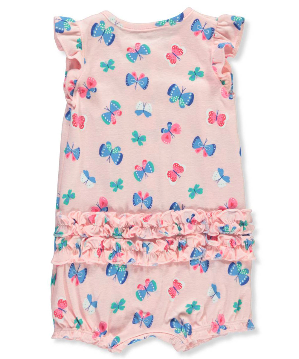 2befbf64b Carter's Baby Girl's Snap-up Cotton Romper Butterfly 3m | eBay