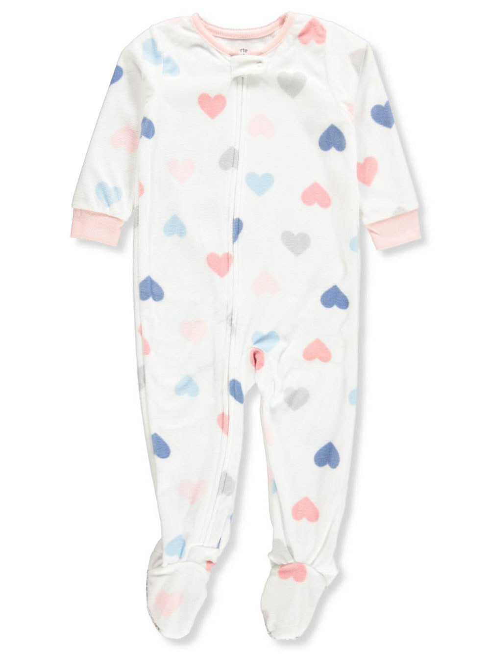 6fbf3d9ea Carter s Baby Girls  1-Piece Footed Pajamas