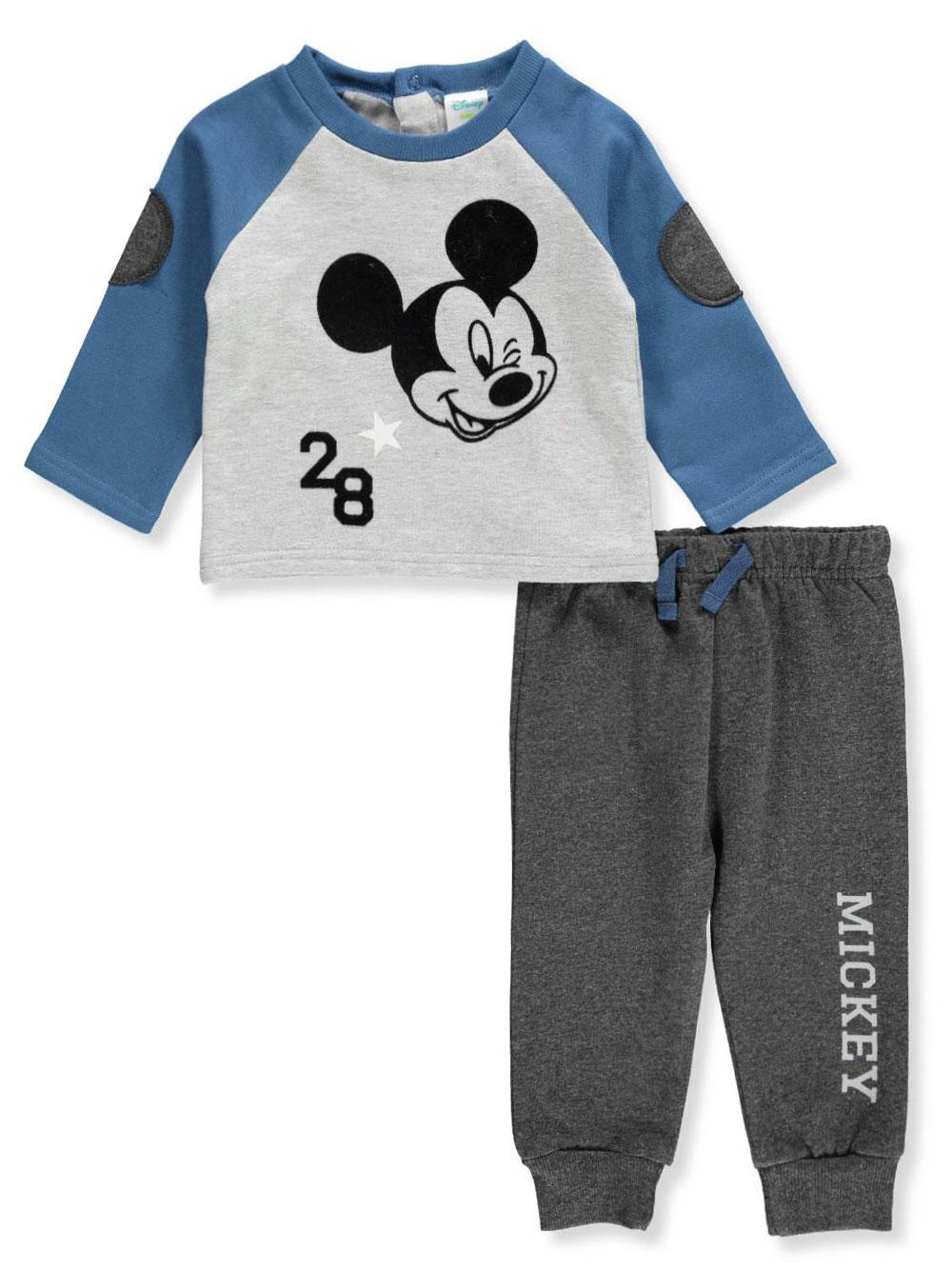 3b18d8e8a Disney Mickey Mouse Baby Boys' 2-Piece Pants Set Outfit | eBay