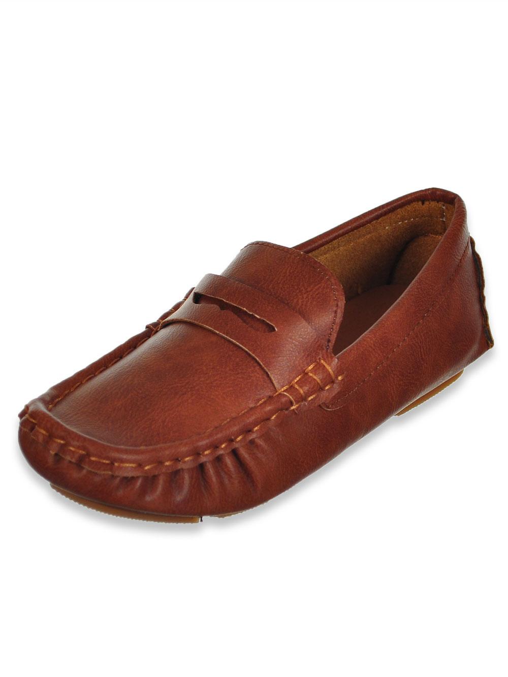 Eddie Marc Boys' Penny Loafers (Sizes 5