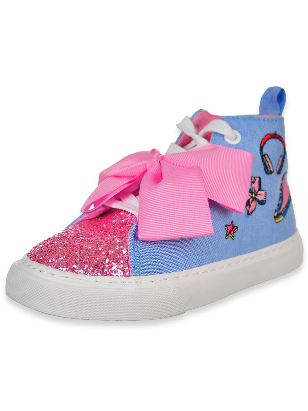 939b1625f1 Jojo Siwa Girls' Hi-Top Sneakers (Sizes 12 - 4) | eBay