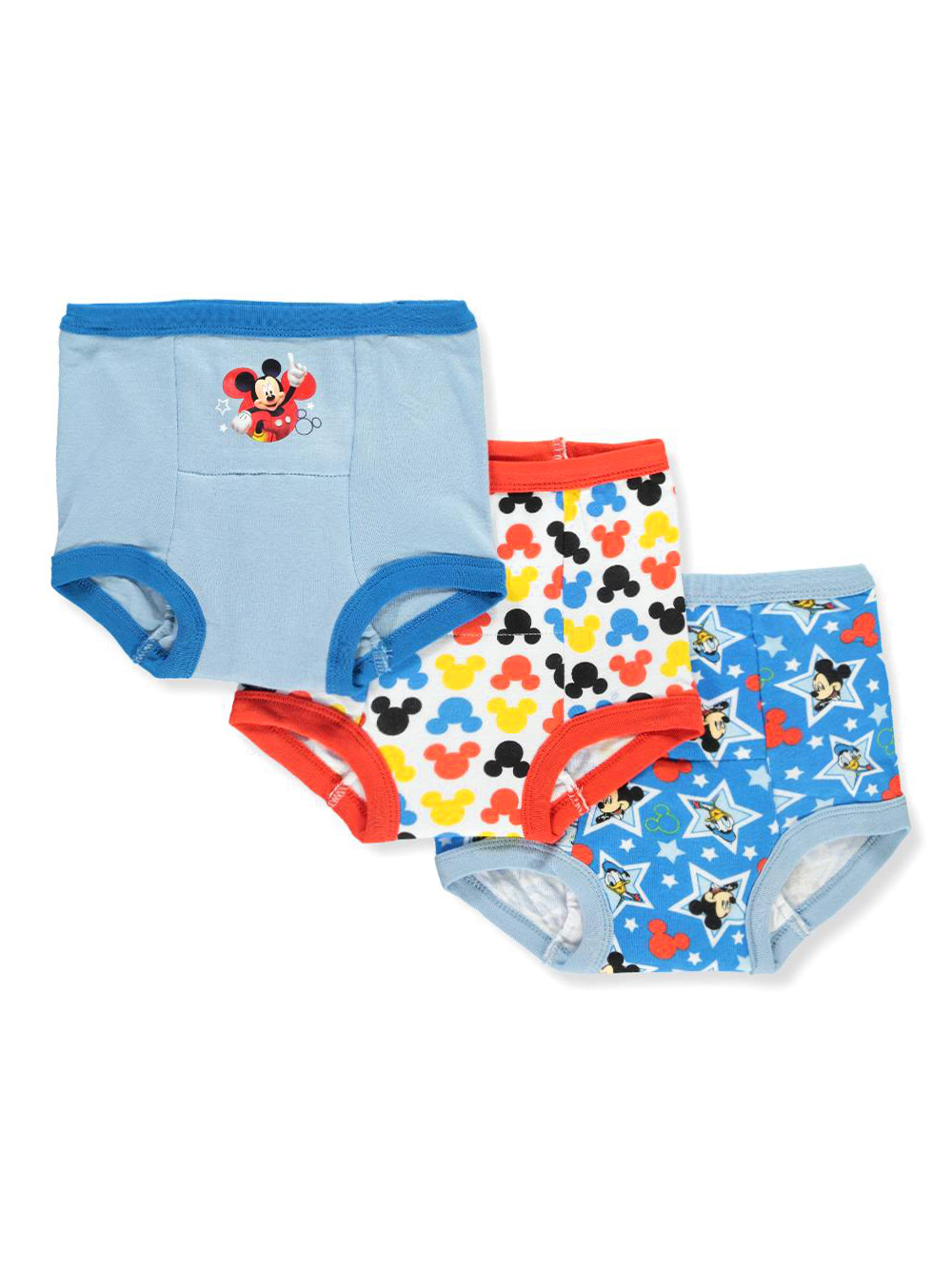 Disney Mickey Mouse Boys 5 Pack Underwear Briefs Pants Set