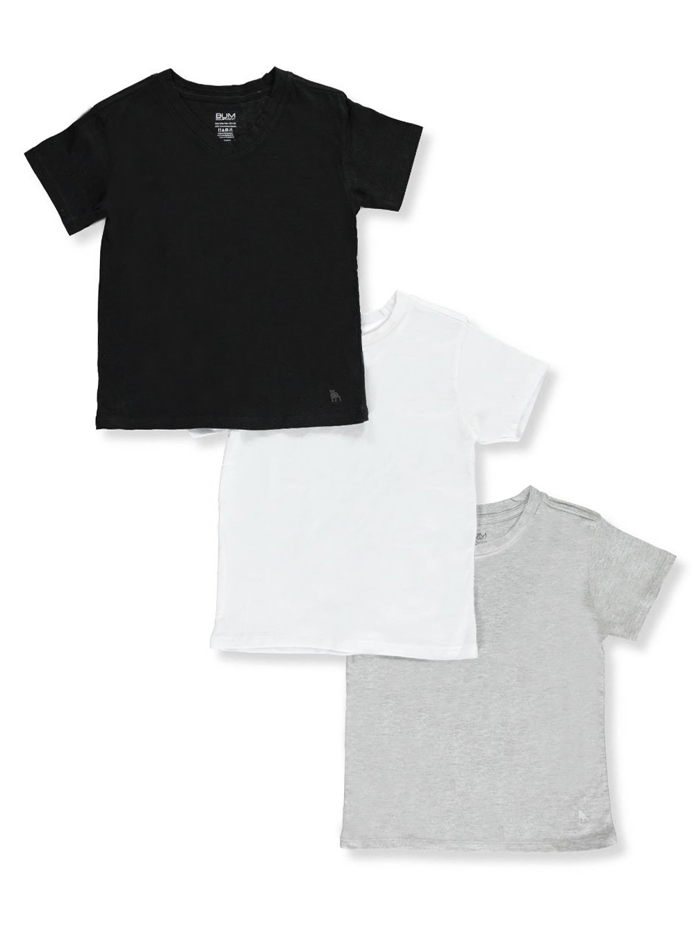 Hanes Little Boys Original Crew Tee Shirts Toddler Size 2T-3T Pack Of 3 NWT
