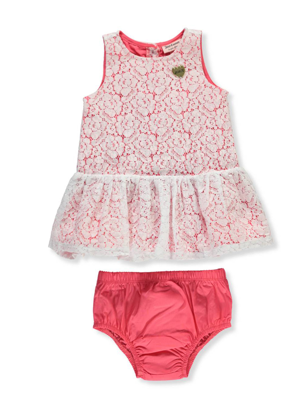 68e963adc Juicy Couture Baby Girls' Dress with Diaper Cover | eBay