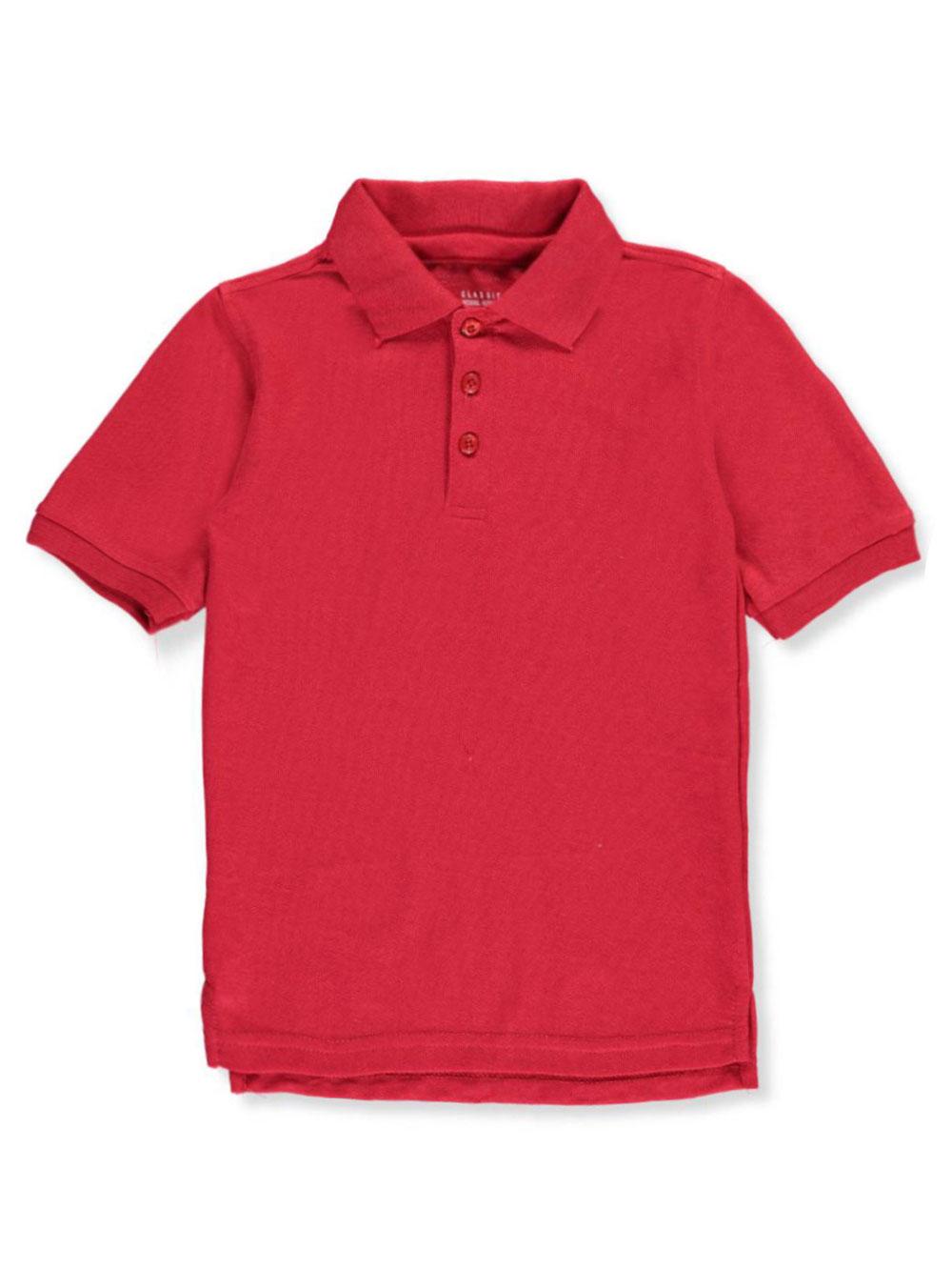 Classic School Uniform Little Boys/' Toddler S//S Pique Polo Shirt Sizes 2T - 4T