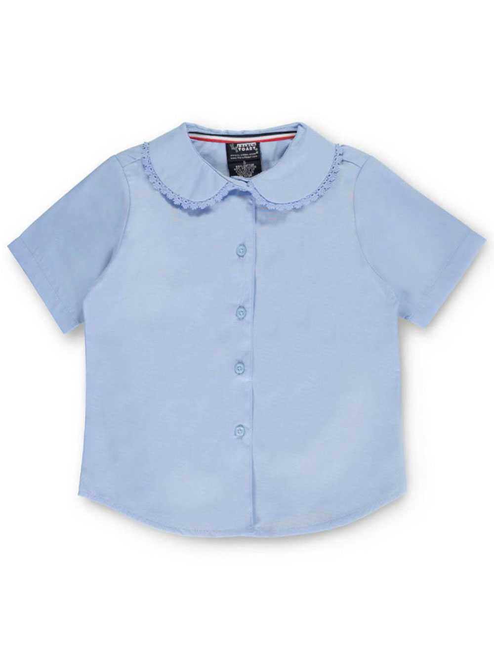 Sizes 4-6X French Toast Little Girls/' L//S Peter Pan Blouse