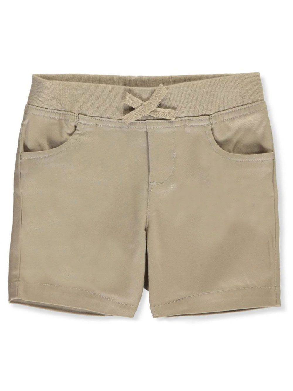 Toddler Khaki Pull On Pant Flat Front French Toast School Uniform Sizes 2T 4T