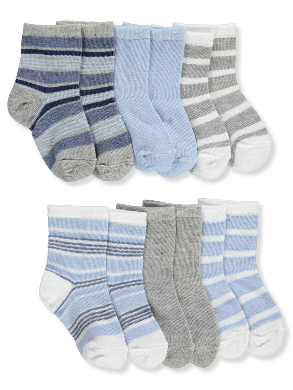 Big Oshi Baby Girls 3-Pack Crew Socks