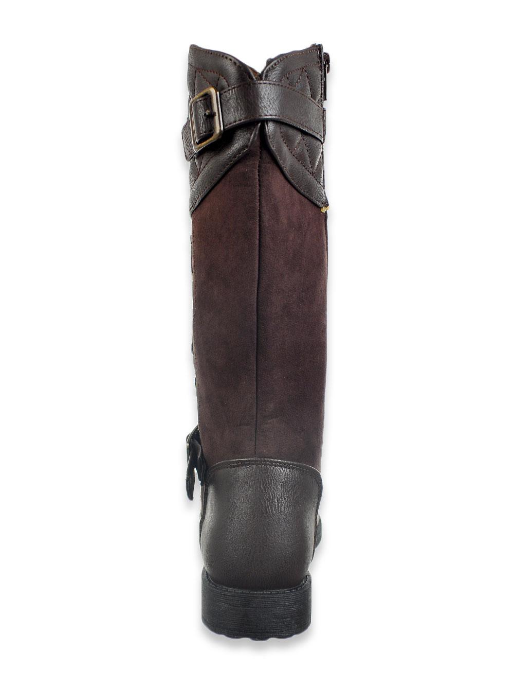Rachel Girls/' Heart Buckle Strap Sandals Sizes 6-4