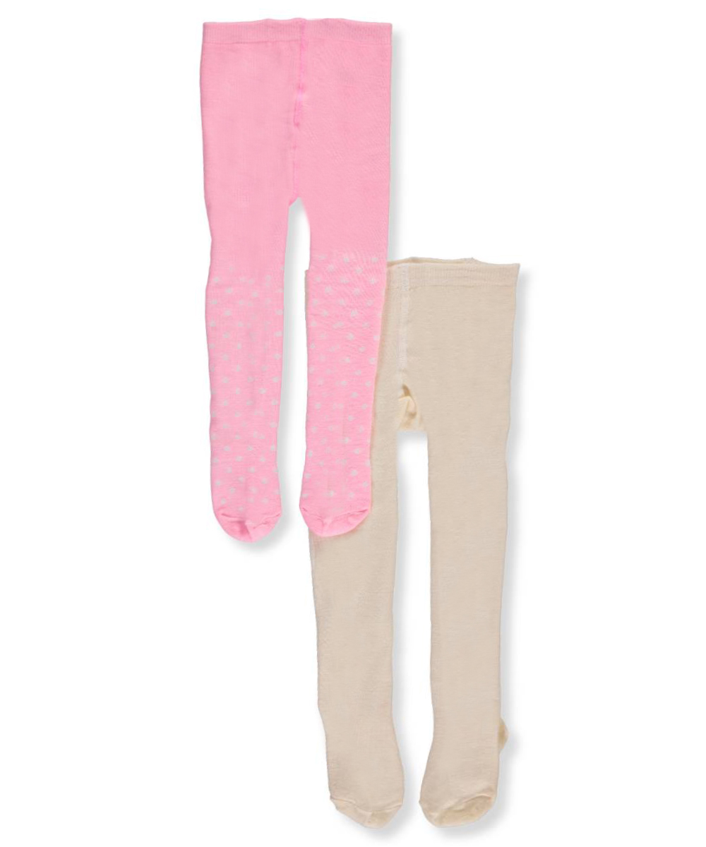 f2dea185ab3ae Little Me Baby Girls' 2-pack Tights Pink/white 6 - 12 Months. About this  product. Picture 1 of 2; Picture 2 of 2